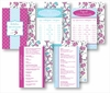 Kitchen Conversion Cards - Preppy Fuchsia & Light Blue