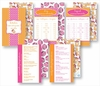 Kitchen Conversion Cards - Preppy Orange & Hot Pink