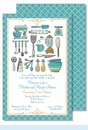 Kitchen Gadgets Large Flat Invitation