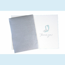 Letterpress Bridal Thank You Notes - click to enlarge