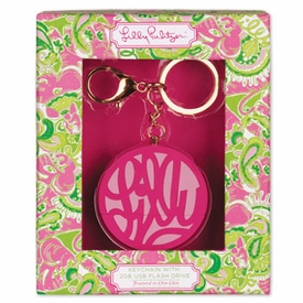 Lilly Pulitzer Flash Drive Keychain - click to enlarge