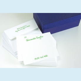 Lively Notecards - 9 colors! (set of 25) - click to enlarge