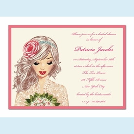 Lovely Lace Invitation - click to enlarge