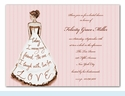Marry My Friend Pink Invitation