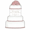 Marzipan Wedding Cake Invitation