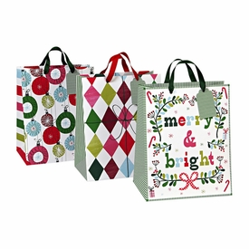 Merry & Bright Large Gift Bags - click to enlarge