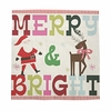 Merry & Bright Large Napkin