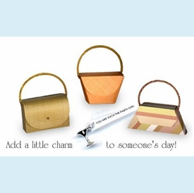 Mini Purse with Fortune Charm - click to enlarge