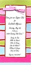 Mod Stripes Invitation