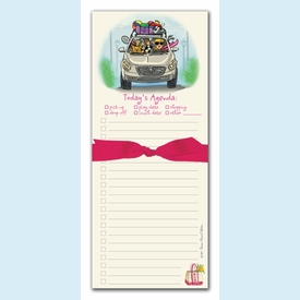 Mom's Agenda Magnetic Note Pad - click to enlarge