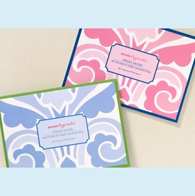 momAgenda Sticky Notes - Pink or Blue! - click to enlarge