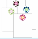 Monogram Dots Cute Collections Notepad Set