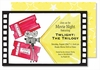 Movie Reel Large Flat Invitation