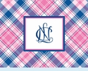 NCL Plaid Notecards