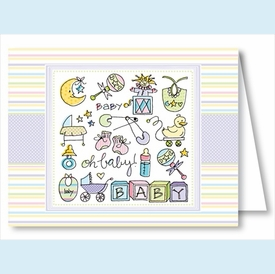 Oh Baby Multi Note Cards - click to enlarge