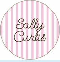 Pale Pink Stripe Personalized Magnet