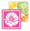 Paper Coasters - Multi Color Poppy