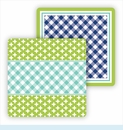 Paper Coasters - Turquoise & Lime