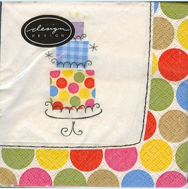 Party Dots Lunch Napkins - click to enlarge