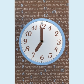 "Party ""Time"" Swing Invitation - click to enlarge"