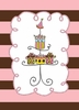 Pedestal of Gifts Birthday Card