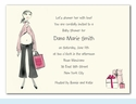 Peek-a-boo Mom Invitation