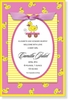 Pink and Yellow Ducky Topper Invitation