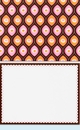 Pink & Brown Note Card Set