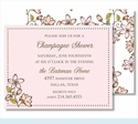 Pink Cherry Blossoms Small Flat Cards