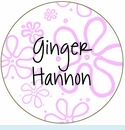 Pink Mod Flower Personalized Mirror