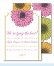 Pink Sunflower Small Flat Cards