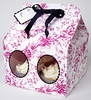 Pink Toile Large Cupcake Box