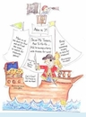 Pirate Ship Invitation
