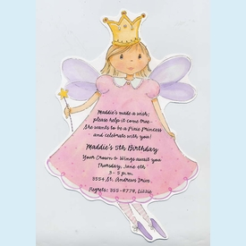 Pixie Fairy Invitation - click to enlarge