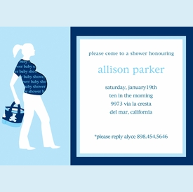 Prego Shirt Cut-Out Invitation - click to enlarge