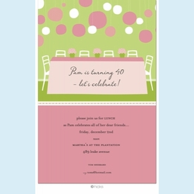 Preppy Patio Table Invitation - click to enlarge