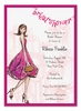 Pretty Pink Bridal Shower Invitation