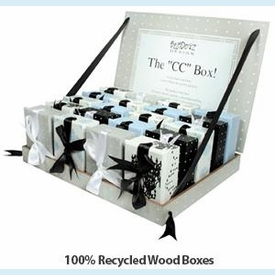 Recycled Wood CC Box - 2 styles! - click to enlarge