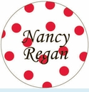 Red Polka Dot Personalized Mirror