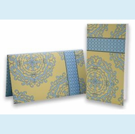 Regal Blue Notecard Wallet - click to enlarge