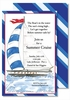 Sailing Large Flat Invitation