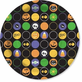 Scaredy Cat Friends Dinner Plates - click to enlarge
