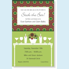 Seasonal Soiree Invitation - click to enlarge