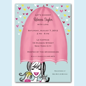Shower with Love Invitation - click to enlarge