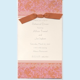 Sienna Rose Invitation - click to enlarge