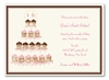 Sixteen Cupcakes Invitation