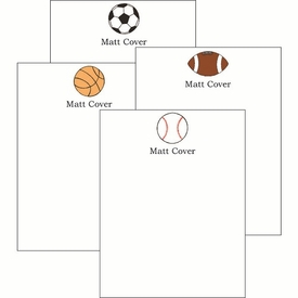 Sports 118 Cute Collections Notepad Set - click to enlarge