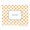 Sprig Orange Folded Notes (set/25)