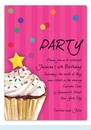 Sprinkles and Confetti Invitation (Pink)