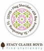 Stacy Claire Boyd Round Labels